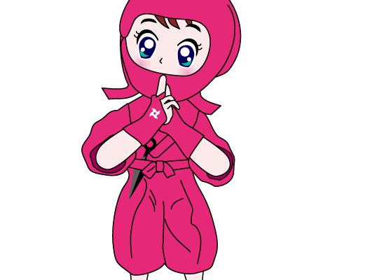 忍者・くのいち・Ninja · Kunoichi