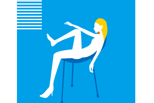 女性・窓ぎわ・室内・シルエット・Woman · window · room · silhouette