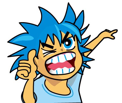 やばい男の子キャラクター・Dangerous boy character