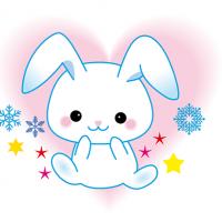 雪うさぎ Snow rabbit character キャラクター