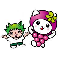 フルーツキャット/ブドウ猫