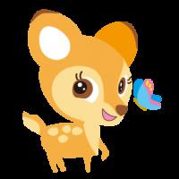 子鹿 こじか バンビ fawn イラスト キャラクター BAMBI