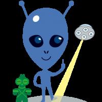 alien・エイリアン・宇宙人・ 遮光器土偶