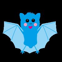 かわいい コウモリ 蝙蝠 bat