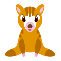 かわいいウリ坊・Boar kid