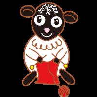 子羊の毛糸屋さん 編み物教室 Lamb's wool shop knitting class