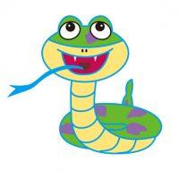 かわいいへび・snake