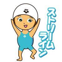 元気なスイマー swimmer