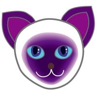 可愛い可愛いシャム猫 siamese cat