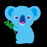 かわいいコアラCute koala