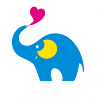 かわいい象さん Cute elephant
