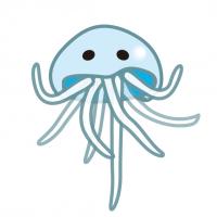 神秘的ゆらゆらクラゲMysterious Wobbling jellyfish