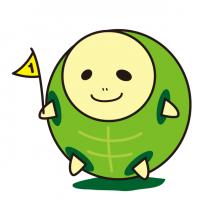 長生きカメのろのろ亀|Long-lived turtle lazy turtle