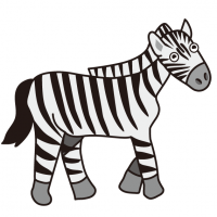 スタイリッシュなジーブラ♡しまうま|Stylish Zebra